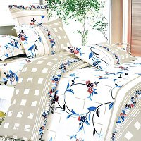 Palace Wall, 100% Cotton 4PC Duvet Cover Set (Full Size)